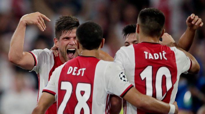 Anota su primer gol en Champions League — EDSON ÁLVAREZ