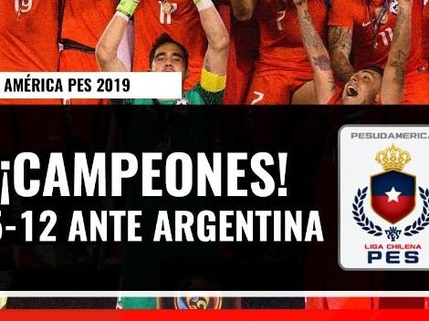 Chile es campeón de la Copa América de PES 2019