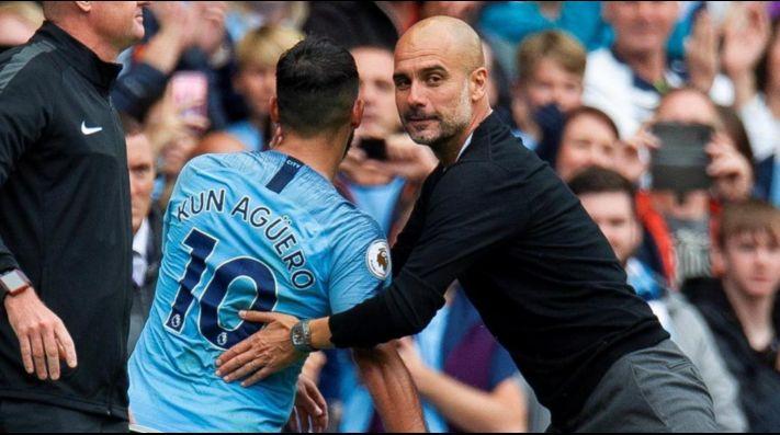Claudio Bravo vio desde la banca la goleada del Manchester City