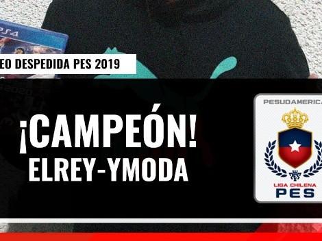 Liga Chilena de PES: Elrey-Ymoda es el campeón del Torneo Despedida de PES 2019