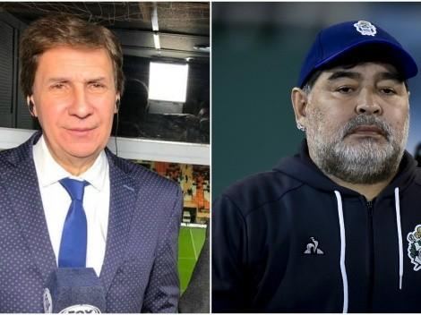 Bambino Pons se pega feroz desubicada con Maradona
