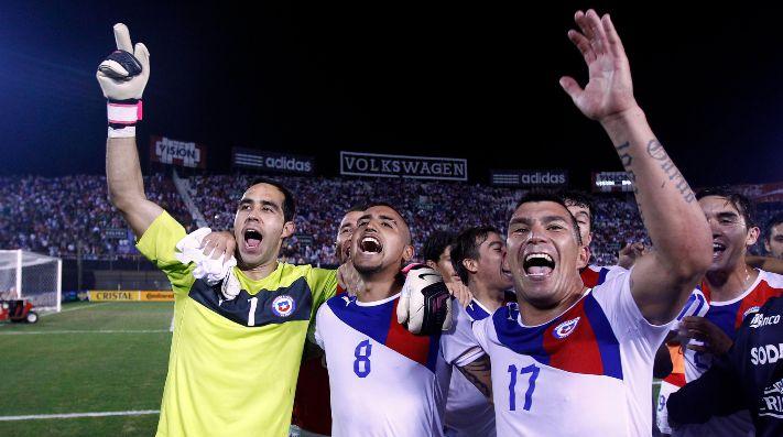 Convocados de Rueda en Chile para enfrentar a Colombia — Van los duros