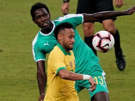 Senegal amarga el partido 100 de Neymar con Brasil