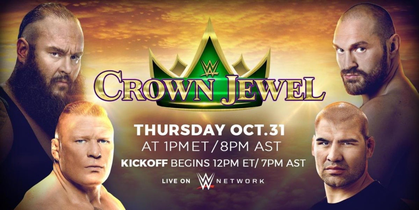 Dónde ver en vivo WWE Crown Jewel