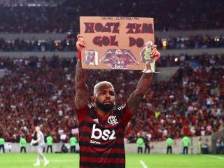 Flamengo Arriesga Sanción Por Cartel De Gabigol En La
