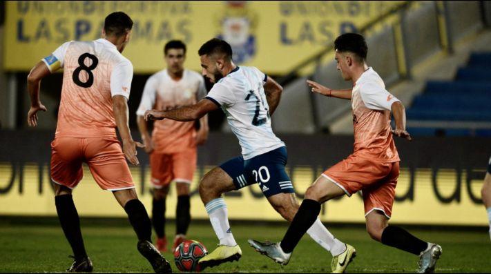 La Selección argentina Sub 23 goleó ¡14-0! y las redes explotaron