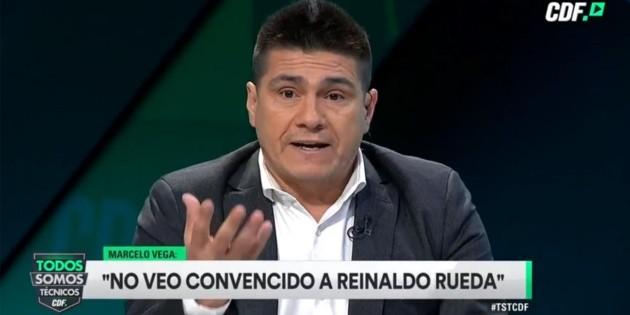 """Marcelo Vega: """"Reinaldo Rueda se quiere ir de la Roja, para mí es la oportunidad que se busque un técnico"""" - RedGol"""