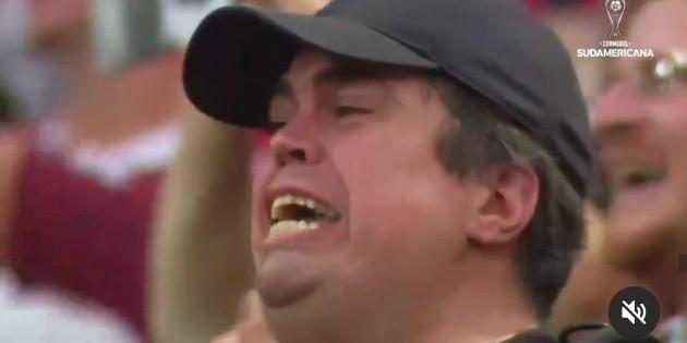 Aparece video completo del hincha de Colón que emocionó a todos en la final de la Copa Sudamericana - RedGol