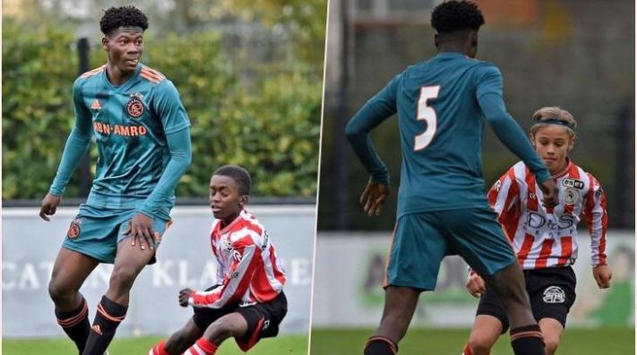 Futbolista holandés de 14 años roba atención por su estatura