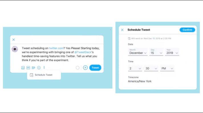 Twitter permitirá programar tweets para una fecha/hora futura
