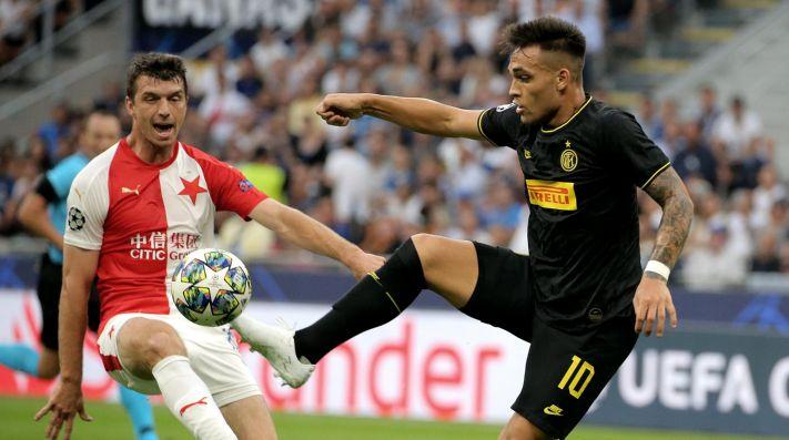 Champions League: dos goles de Lautaro Martínez en la goleada de Inter