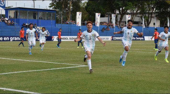La Selección Argentina Sub 15 debuta ante Chile en el Sudamericano