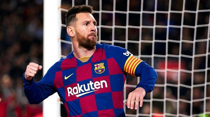 El mensaje de Messi a sus compañeros en la goleada del Liverpool