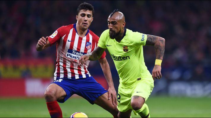 Vidal contra el Atlético