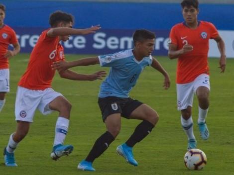 La Roja Sub 15 cae ante Uruguay y se despide del Sudamericano