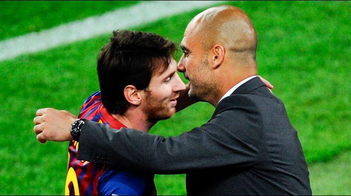 Guardiola y Messi, ¿otra vez juntos?