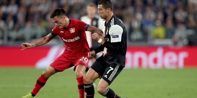 Qué canal transmite Bayer Leverkusen de Charles Aránguiz vs Juventus de Cristiano Ronaldo por la Champions League | RedGol