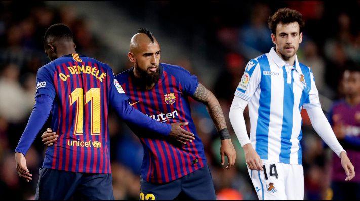 El Barça supera al Madrid en el reparto televisivo de la Liga