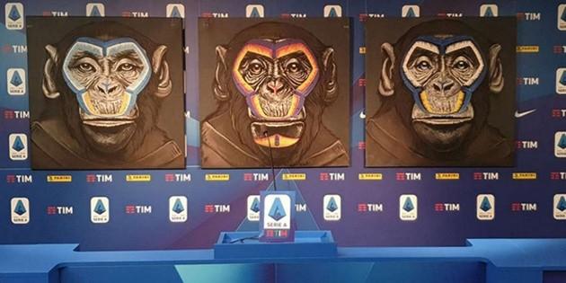 Llueven críticas contra la Serie A italiana por campaña contra el racismo con monos de colores | RedGol