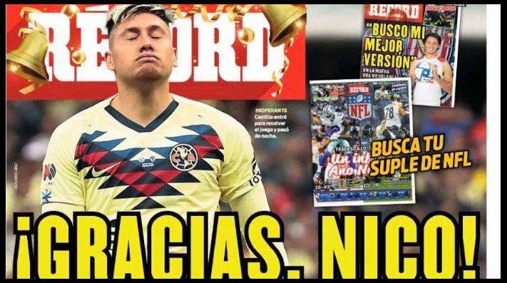 Prensa mexicana: Nicolás Castillo debe salir de América