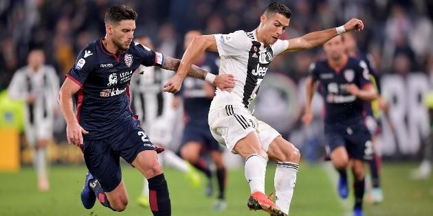 Ver EN VIVO Juventus vs Cagliari por la jornada 18 de la liga italiana | RedGol