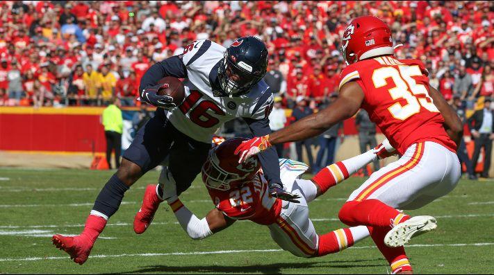 Chiefs logran remontada histórica y elimina a los Texans