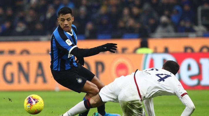 Inter no pudo recuperar la punta al empatar con Lecce