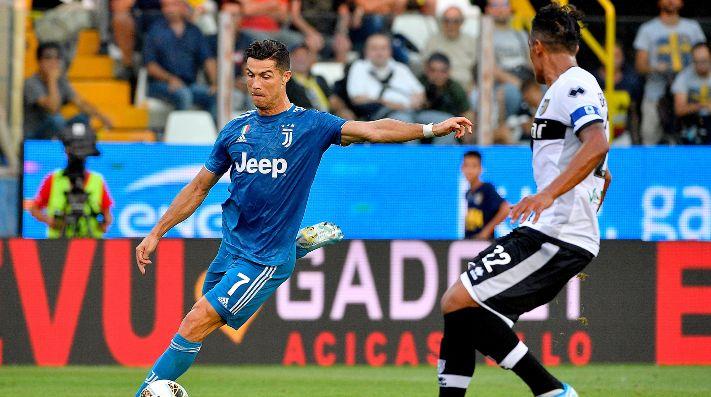 Cristiano está recuperado de su sinusitis y será titular en Juventus-Parma