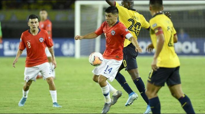 Chile es líder del Grupo A