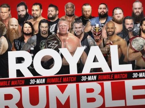 Ver EN VIVO WWE Royal Rumble 2020