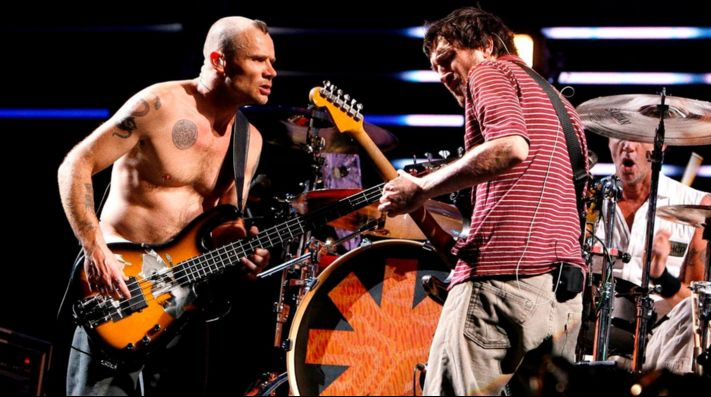 Red Hot Chili Peppers vuelve a tocar con Frusciante
