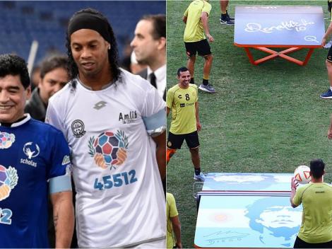 Embargan a Dorados: No se salva ni regalo de Ronaldinho a Maradona