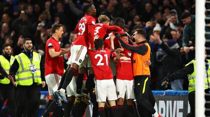 Gran triunfo de Manchester United en Stamford Bridge