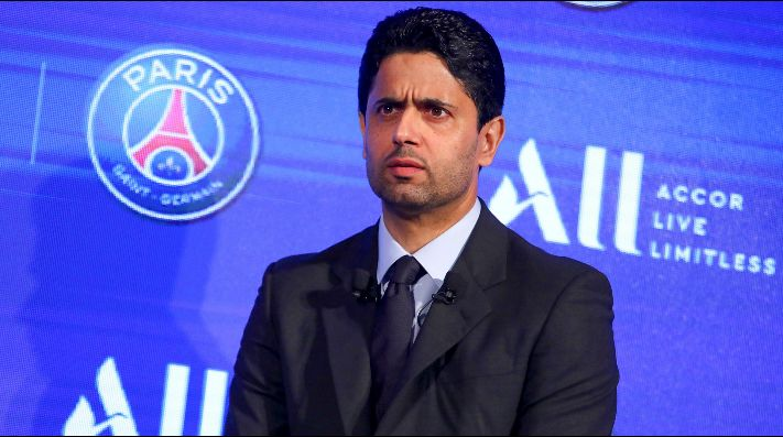 Presidente del PSG, Nasser Al-Khelaïf, otra vez fue acusado de corrupción