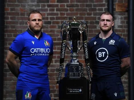 Ver EN VIVO Italia vs Escocia por la tercera jornada del Six Nations Championship