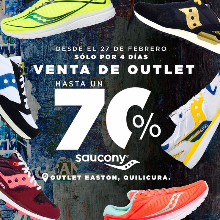 Hasta Un 70 De Descuento Ofrecera La Exclusiva Venta De Bodega De Zapatillas Saucony En Easton Outlet Mall De Quilicura Redgol