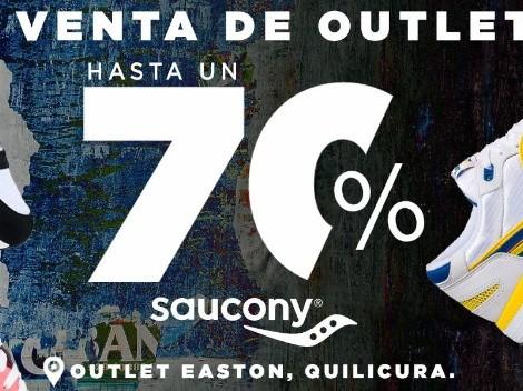 Hasta 70% de descuento en la venta de bodega de zapatillas Saucony
