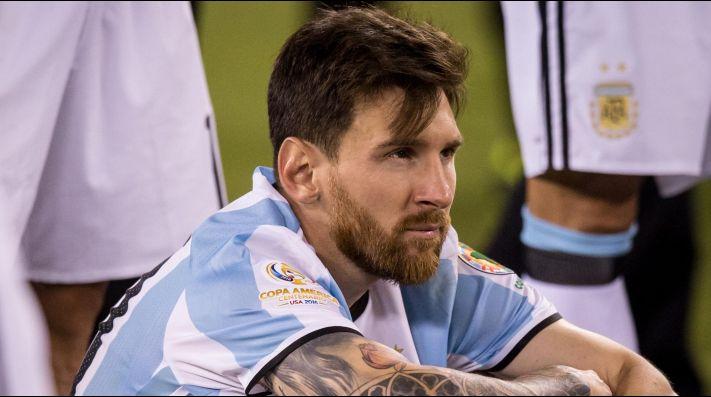 El triste día que Lionel Messi lloró como un nene