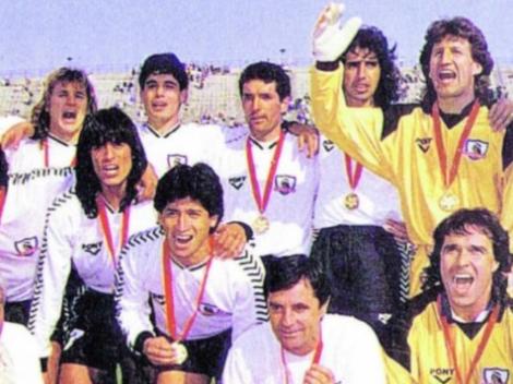Video: A 28 años del histórico título de Colo Colo en la Recopa Sudamericana