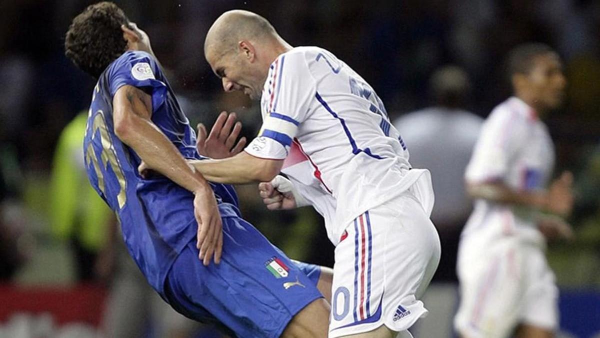 """Marco Materazzi muy dolido: """"A Zidane los franceses lo protegieron ..."""