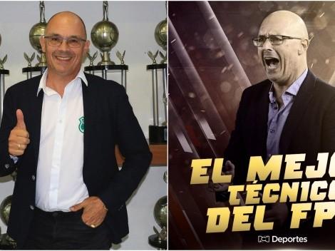 Alfredo Arias es nombrado como el mejor DT del fútbol colombiano
