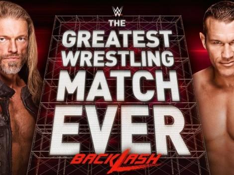 Backlash: Dónde ver en vivo la gran jornada de la WWE con Edge vs Randy Orton