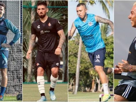 Chilenos vuelven anticipadamente al fútbol en México