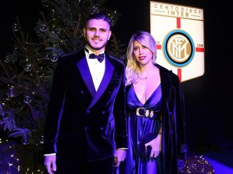 """Icardi y su esposa rechazan ser """"los nuevos Beckham"""""""