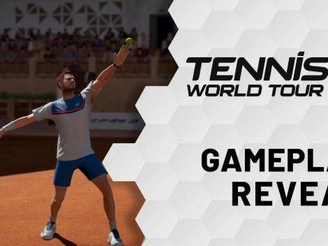 Presentado el primer gameplay de Tennis World Tour 2