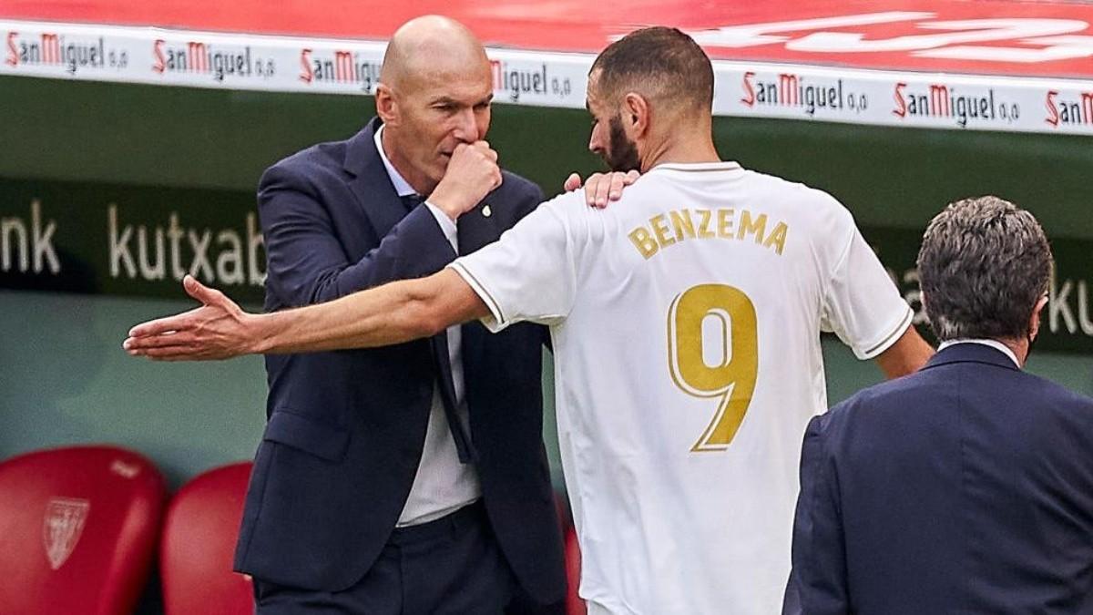 """Zinedine Zidane: """"Estoy cansado que se diga que ganamos por los ..."""