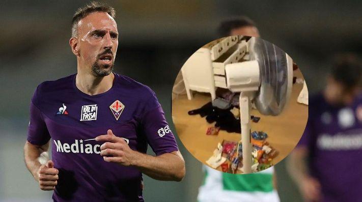 El domingo negro de Ribéry: lesión y robo en su casa