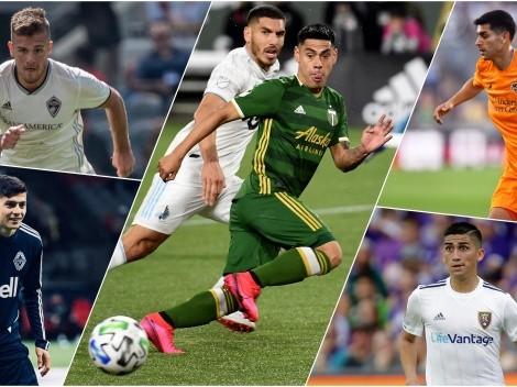 Hoy comienza la MLS is Back con cinco chilenos