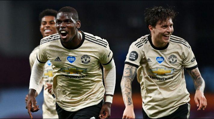 Aston Villa vs. Manchester United - Reporte del Partido - 9 julio, 2020