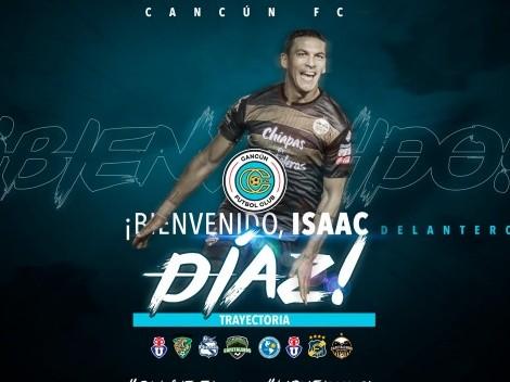 Isaac Díaz cambia de club en México y llega al nuevo Cancún FC